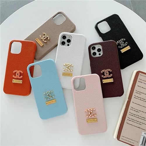 純正 シンプル シャネル iPhone13pro/13pro maxケース 革製 ハイブランド ジャケット型 アイフォン12/12mini/12pro/12pro maxレザーケース iphone 11/11pro max携帯カバー 高品質 高級感