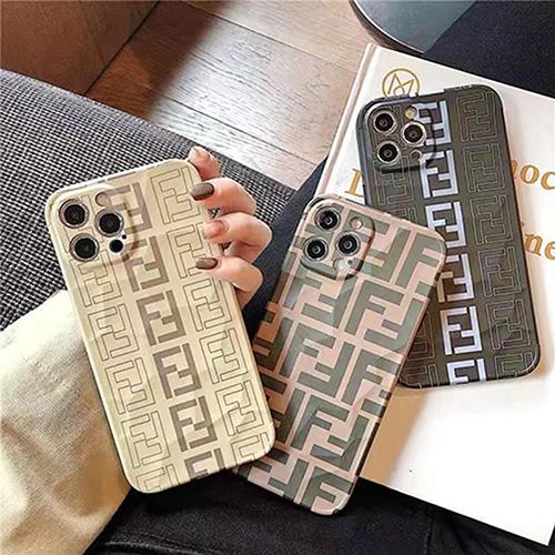 フェンディ ブランド iphone13pro maxケース ジャケット型 カジュアル FEND iphone 13/13proハードケース メンズ 男性 かっこいい iphone 12/12pro/12pro maxケース 個性的 ユニーク