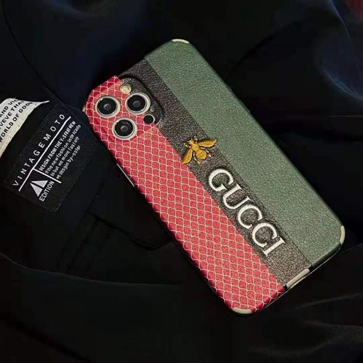 高級ブランド グッチ  IPhone12s/13pro maxケース 刺繍ロゴ 上品 Gucci iphone13/13 mini/12s pro/12s pro maxケース 男女兼用 カップル向け アイフォン 12s/11pro maxカバー 人気 ファッション