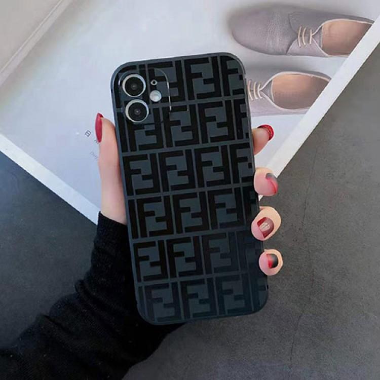 フェンデイ ブランド iphone12/12pro maxケース かわいいペアお揃い アイフォン11ケース iphone 8/7 plus/se2ケース個性潮 iphone x/xr/xs/xs maxケース ファッションins風iphone 12 ケース かわいい