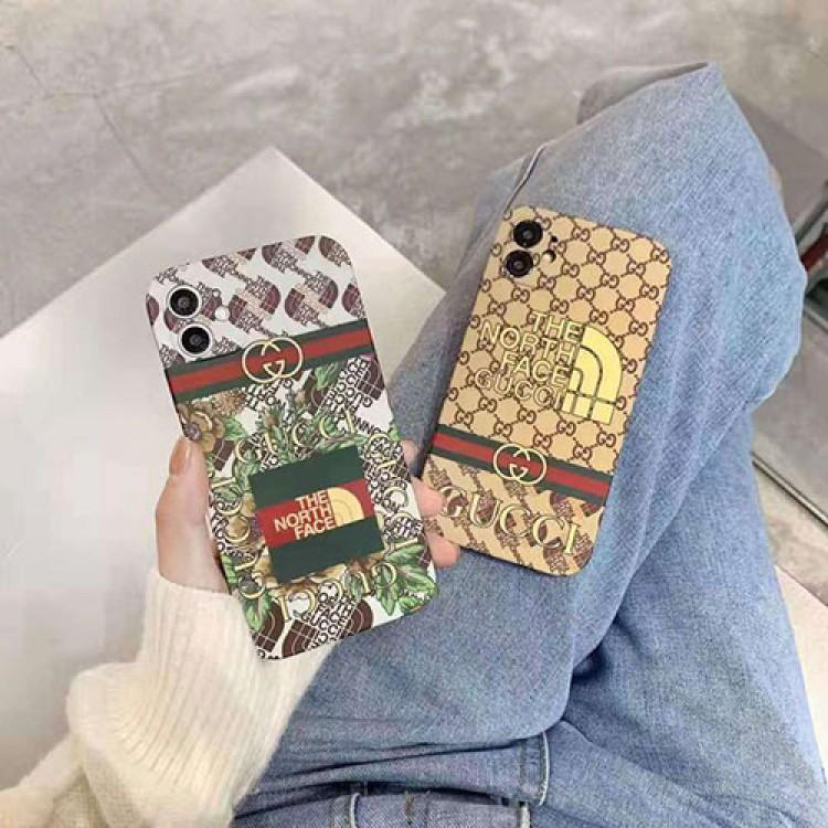 グッチ ブランド iphone12/12pro maxケース ザ·ノース·フェイス ブランドAir Pods Proイヤホーンケース落下防止オシャレかわいいペアお揃い アイフォン11ケース iphone xs/x/8/7se2ケースins風ケース かわいいメンズ iphone11/11pro maxケース 安い