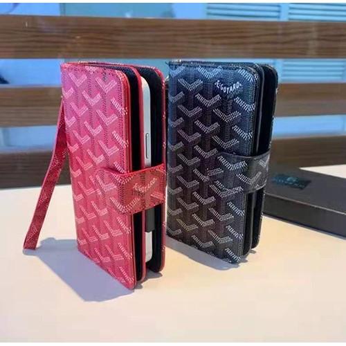 ゴヤール ブランドミニバッグiphone12/12 pro/12pro maxケース全機種対応 コピースマホカバーオシャレ カードポケット付きGalaxy Note20/ Note20Ultra/note10/s10ケース
