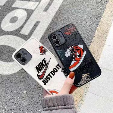 ナイキ ブランドJUST DOIT iphone 12 /12 pro/12 mini/12 pro maxケース 個性潮流iphone11/11pro/11pro maxケースオシャレ人気 iphone x/xs/xr/xs maxケース男女兼用