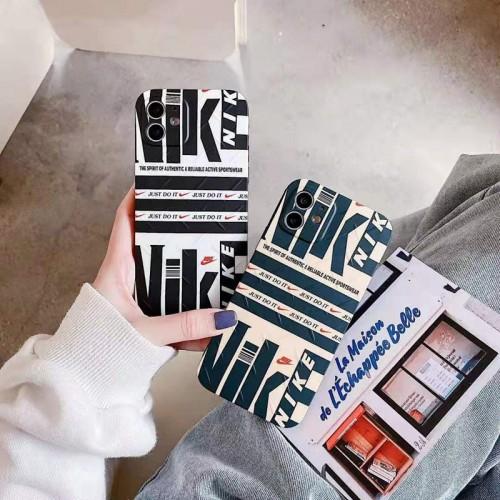 Nike/イキ 激安コピーブランド携帯ケースブランド iphone12/12pro max/xs max/8/7/6s plusケース財布型ブランド オーダーメイドカバーバッグ型