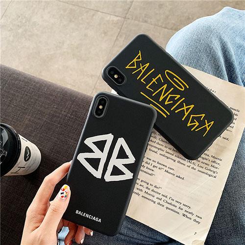 バレンシアガ ブランドIphone 12 Mini/12 Pro/12 Pro Max/12ケース男女兼用人気ブランドiPhone 11/11 pro/11 pro maxケースファッションIns風ケース かわいい