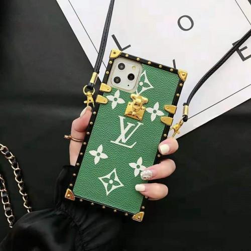 iphone 12/12 pro/12 mini/12 pro max人気ブランドルイヴィトンiphone11/11pro/11pro max/se2ケースファンションiphone xs/xr/xs maxケースオシ  ャレiphone x/7/8/plusケースストラップ付き 斜め掛け 個性潮流 芸能人愛用