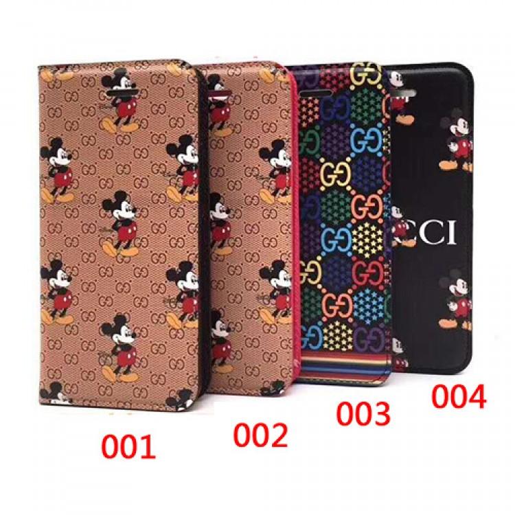 GUCCI/グッチ disney 女性向け iphone 11/xr/xs max/se2ケース 手帳型 ビジネス ストラップ付きジャケット型 2020 iphone12ケース 高級 人気アイフォン12カバー レディース バッグ型 ブランド