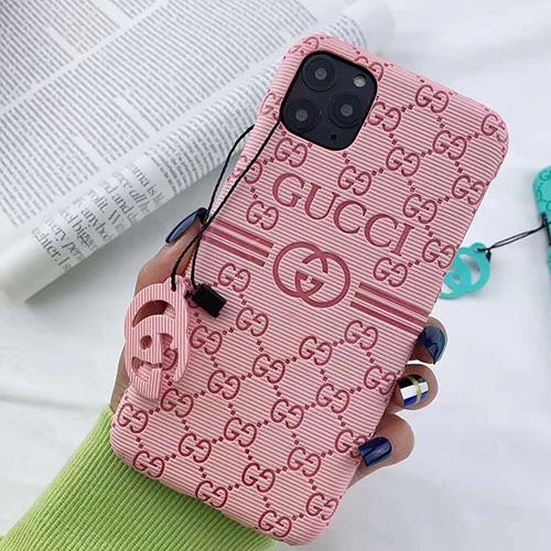 GUCCI/グッチペアお揃い アイフォン11ケース iphone xs/x/8/7/SE2ケース ビジネス ストラップ付きシンプル ジャケットアイフォン12カバー レディース バッグ型 ブランド