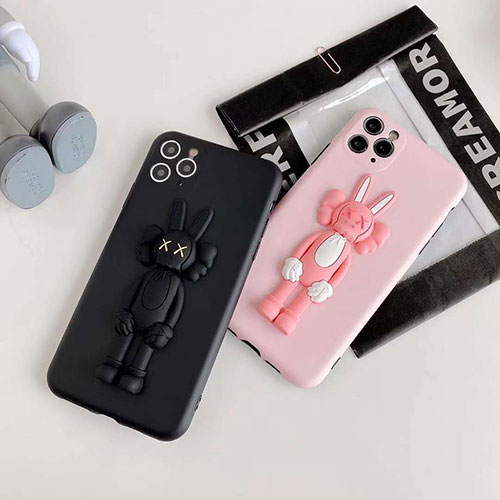 KAWSファッション セレブ愛用 iphone11/11pro maxケース 激安アイフォンiphone x/8/7 plus/se2ケース ファッション経典 メンズiphone xr/xs max/11proケースブランド iphone x/8/7 plusケース大人気