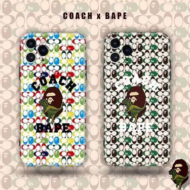 Coach/コーチファッション セレブ愛用 iphone 11pro maxケース 激安レディース アイフォンiphone xs/11/8 plus/se2ケース おまけつきアイフォン12カバー レディース バッグ型 ブランドモノグラム