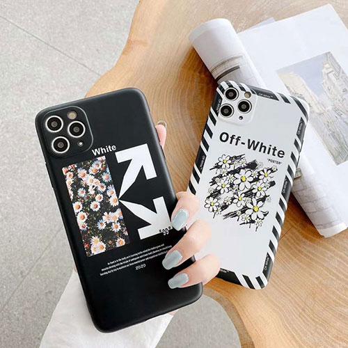 OFF WHITEハイブランド  Iphone xr/11/11pro maxケース コピー激安 iphone 7/8 plus/se2 アイフォン IPhone xs/xs maxケースジャケットスマホケース コピージャケットスマホケース コピー