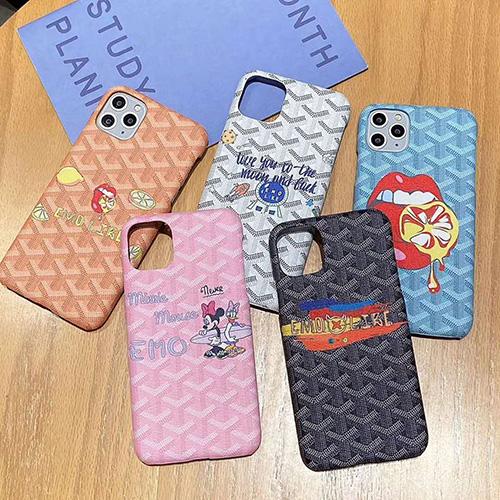 Goyard/ゴヤールブランドIphone 7/8 plus/se2ケース 韓国風iphone11/11 pro max ジャケットスマホケース コピー