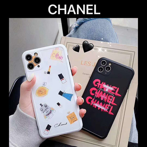 Chanel/シャネルハイブランド Iphone 7/8 plus/se2ケース コピーIphone xr/11/11pro maxケース 韓国風激安 iphone 11 アイフォン 11 pro max ケースジャケットスマホケース コピー