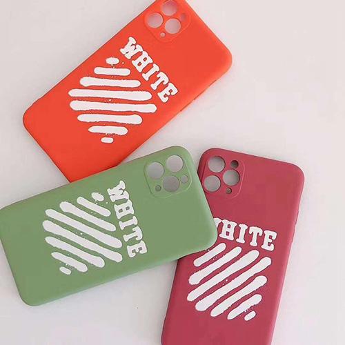 OFF WHITEブランドiphone 7/8 plus/se2ケースiphone 11/11 pro/11 pro maxケースカバーiphone x/xr/xs/xs maxケース 韓国風