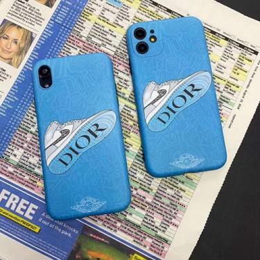 Dior ディオール iPhone 12/7/8 plus/se2ケースほぼ全機種対応激安 iphone 11 Nike/ナイキアイフォン 11 pro max ケースジャケットスマホケース コピーセレブ愛用全機種対応ハイブランドケース パロディ