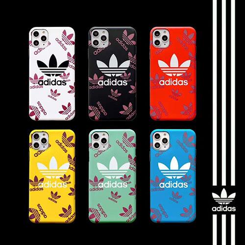 Adidas/アディダスブランドiphone 12ケース激安iphone 7/8 plus/se2ケースiphone11/11 pro maxジャケットスマホケース コピー
