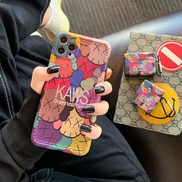Kaws iphone 12 ケースカバーiphone 7/8/se2ケース 韓国風セレブ愛用全機種対応huawei mate 30 proハイブランドケース パロディ