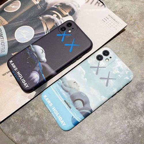 Kaws iphone 12ケースほぼ全機種対応激安 iphone 7/8/se2ケースiphone 11/11 pro/11 pro maxケース 韓国風