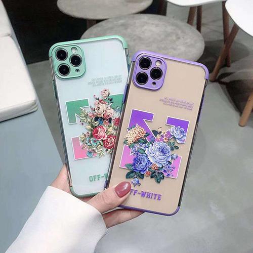 OFF WHITEブランドiphone 12 2020ケースiPhone 7/8/se2ケース 韓国風激安 iphone 11 アイフォン 11 pro maxケースジャケットスマホケース コピー