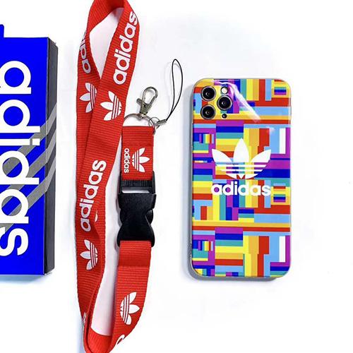Adidas/アディダス激安 iphone 12 pro maxケースiPhone 7/8/se2ケース 韓国風iphone11/11 pro max/11 pro mxジャケットスマホケース コピー