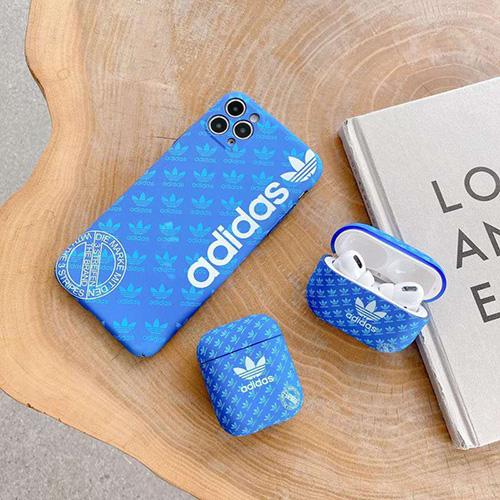 Dior ディオールiphone 12/12 pro/12 pro maxほぼ全機種対応Adidas/アディダスiphone 7/8/se2ケース 韓国風セレブ愛用全機種対応ハイブランドケース パロディ