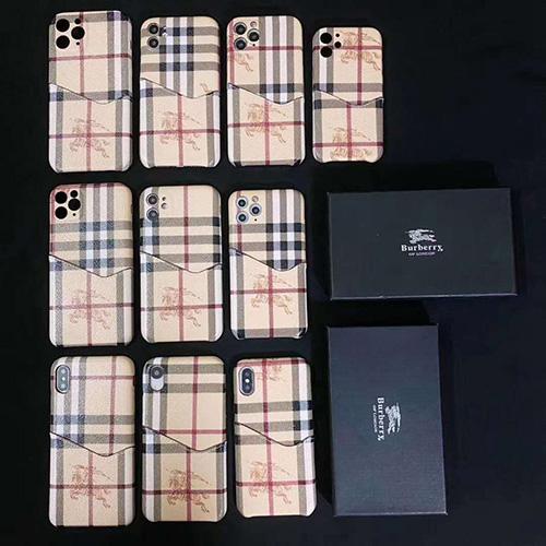 Burberry/バーバリーペアお揃い アイフォン12/11ケース iphone 11/xs/x/8/7/se2ケース男女兼用人気ブランドケースアイフォンiphone x/8/7 plusケース ファッション経典 メンズジャケット型 2020 iphone12ケース 高級 人気