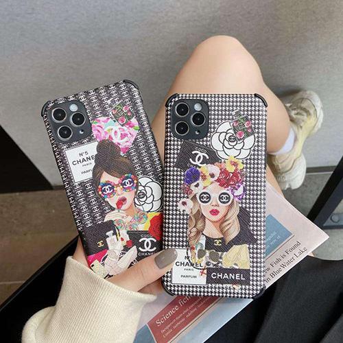 Chanel/シャネル女性向け iphone 11/xr/xs maxケースアイフォンiphone x/8/7 plusケース ファッション経典 メンズシンプル iphone x/xr/xs/xs maxケース ジャケットアイフォン12カバー レディース バッグ型 ブランド