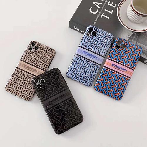 Burberry/バーバリーブランド iphone12 mini/12pro max/12 max/12 proケース かわいいペアお揃い アイフォン11ケース iphone xs/x/8/7/se2ケースシンプルジャケットレディース アイフォンiphone xs/11/8 plusケース おまけつき