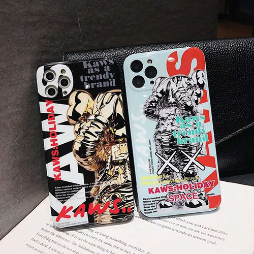 Kawsシンプルiphone 12 mini/12 pro/12 max/12 pro maxケース ジャケットins風 iphone x/xr/xs/xs maxケースケース かわいいiphone xr/xs max/11proケースブランドジャケット型 2020 iphone12ケース 高級 人気
