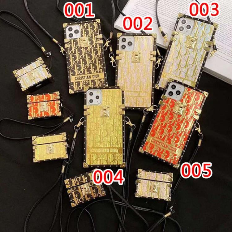 Dior ディオールブランド iphone12 mini/12 pro max/12 max/12 proケース かわいい個性潮 iphone x/xr/xs/xs maxケース ファッションレディース アイフォンiphone xs/11/8 plusケース おまけつきアイフォン12カバー レディース バッグ型 ブランド mini
