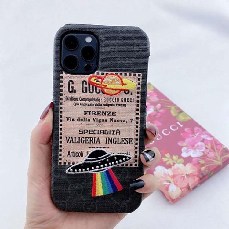 グッチiphone 12/12 mini/12 pro/13 pro max/ xs/8/7 plusカバー メンズ レディースiphone 11/11 pro/11 pro max xs/8/7/se2ケースカバーセレブ愛用全機種対応ハイブランドケース パロディ