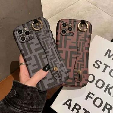 フェンデイ ブランド iphone12/12pro maxケース かわいい ビジネス 縫い布製 個性潮 おまけつき iphone x/xr/xs/xs max/8plus/11proケース ファッション アイフォン12mini/12 pro maxカバー バッグ型 レディース