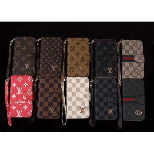ルイヴィトンiphone12/12pro手帳型ケースビジネス風 ルイヴィトンとシュプリーム galaxy s21/s20+ カバー 男女兼用 supreme ヴィトン iphone13/13pro maxケースカード収納ブランド ストラップ付き