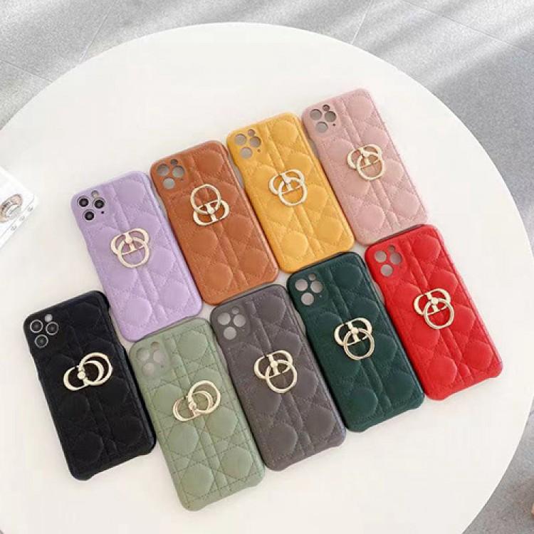 Christian Dior ディオール iphone13/13pro maxレザーケース ブランド 革製 女子 高級感 ディオール アイフォン12/12mini/11pro maxケース クラシック エレガント ハイエンド レディース向け