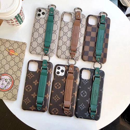 ビジネス風 ベルト付き ルイヴィトン iphone13mini/13ケース グッチ ブランド アイフォン13Pro max/13Proケース メンズレディース 高品質 iphone12/12pro/12pro maxケース 高級感 人気