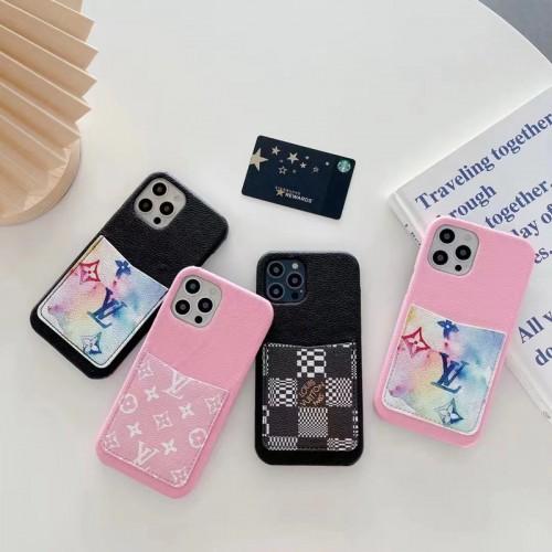 ブランド ルイヴィトン iphone13/13mini/13pro/13pro maxケース グッチ カードポケット付き iPhone12/12pro max携帯カバー きれい 男女兼用 モノグラム iPhone11/11pro max/xs/xs maxフルーカバー
