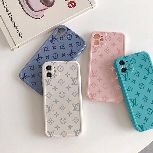 可愛いモノグラム ルイヴィトン iphone13Pro max/13Pro/13mini/13ケース ブランド 鮮やかな色 男女兼用 アイフォン12Pro max/12Pro/12mini/12ケース シンプル iPhone11/11 proカバー