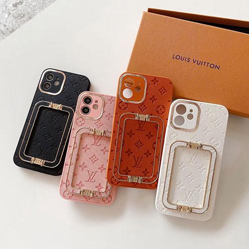 高級感 スタンド機能 ルイヴィトン iphone13Pro max/13Proブランドケース レリーフプリント アイフォン12Pro max/12Pro/12mini/12ペアケース カップル向け iphone 11スマホケース
