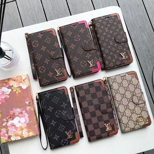 高品質 ルイヴィトン 手帳型ケース iphone13Pro max/13Pro/13mini/13レザーカバー ブランド ビジネス風 グッチ アイフォン12Pro max/12Pro/12mini/12ケース 男女兼用 ストラップ付き