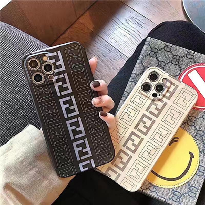フェンディiphone 13pro/13pro maxケース シンプル